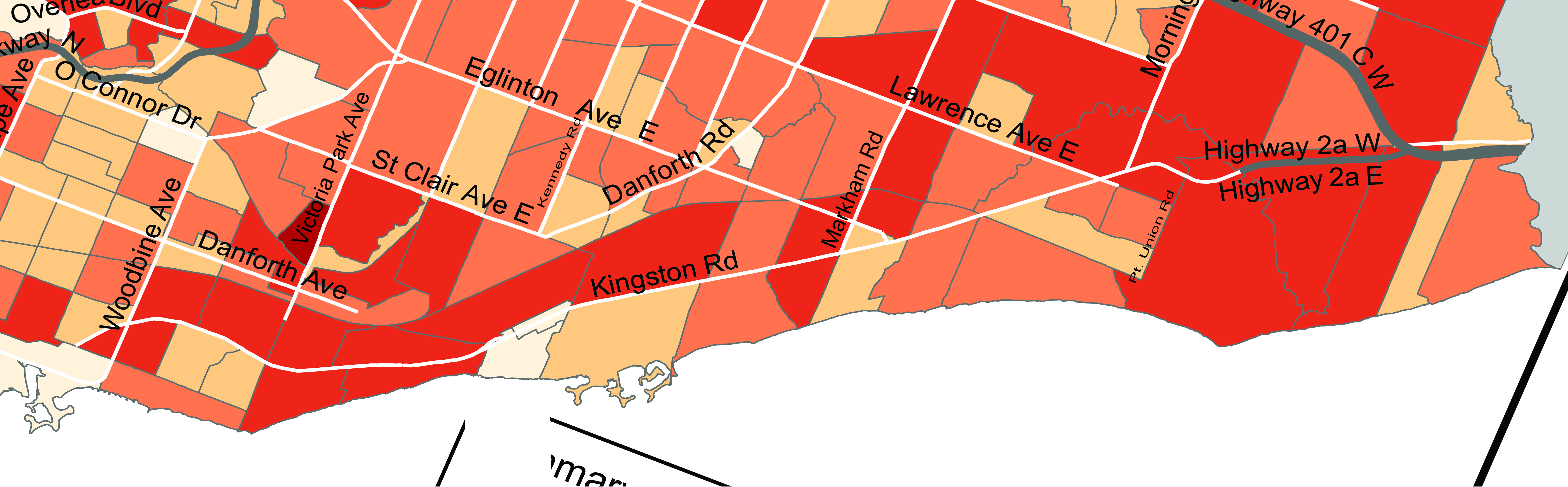 Toronto's Kingston Road - End to End