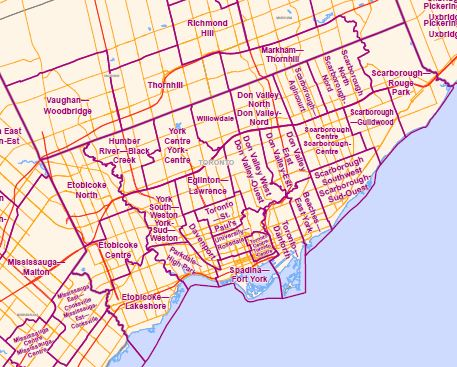 Ontario's Electoral Districts